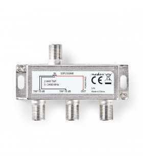Spliter F Max. 10 dB Frecventa 5-2400MHz 2 Iesiri Nedis