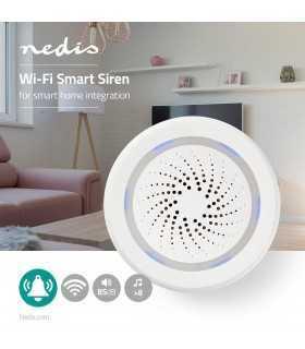 Dispozitiv de alarma cu conexiune WiFi 85dB Nedis