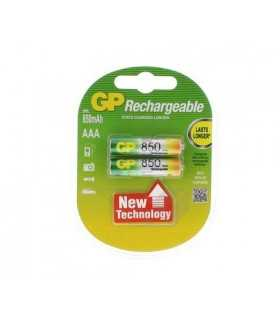 Acumulatori AAA R3 NiMH LowSelfDischarge 850mAh 2buc/blister GP