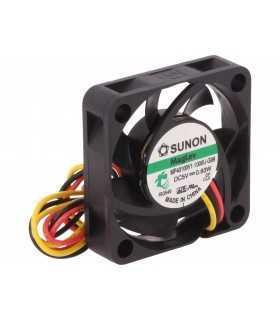 Ventilator DC axial 5VDC 40x40x10mm 13.52m3/h 27.3dBA Vapo SUNON MF40100V1-1000U-G99
