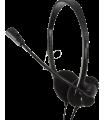 Casti cu microfon Jack 3.5mm 20/20000Hz 32ohm 98dB 1.8m LOGILINK HS0001