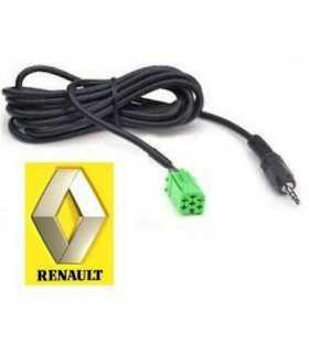 Adaptor Auxiliar Jack 3.5mm Renault 4CarMedia