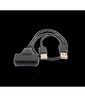 """Cablu adaptor USB2.0 la SATA SSD HDD 2.5"""""""