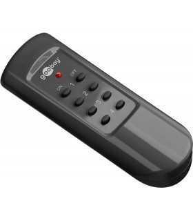 Kit priza cu telecomanda 30m 5A 1100W Goobay
