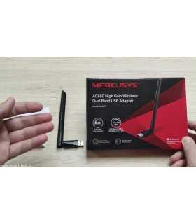 Adaptor USB Wireless AC650 antena externa Mercusys