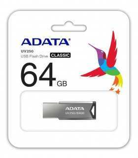 FLASH DRIVE 64GB USB 2.0 UV250 ADATA
