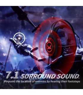 Casti audio over-ear cu fir Vankyo CM7000 7.1