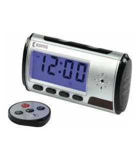 Spy cam clock KONIG
