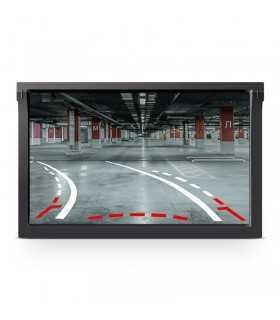 Camera marsalier si senzori de parcare in placuta inmatriculare Peiying