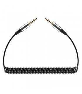 Cablu SPIRALAT JACK 3.5mm tata-tata REBEL