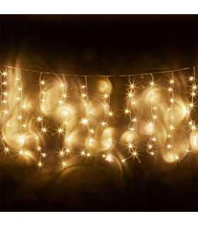 Perdea 330 LED-uri IP44 alb cald 5m 6W REBEL