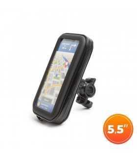 """Husa pentru telefon pe biciclete cu suprafata tactila max. 5.5"""" Wheel Zone"""