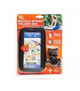 "Husa pentru telefon montaj pe biciclete cu suprafata tactila max. 6.3"" Wheel Zone"