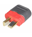 Mufa alimentare DC tata PIN 2 pe cablu lipite 25A AMASS AM-1015