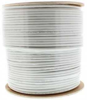 Cablu coaxial RG6 75R fire otel cuprat ecranat cu folie Al+Al&Mg 48X0.12 Well