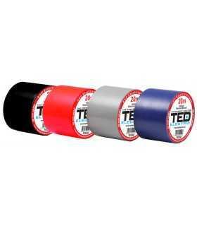 Banda electroizolatoare TED 50mm x 20metri alba