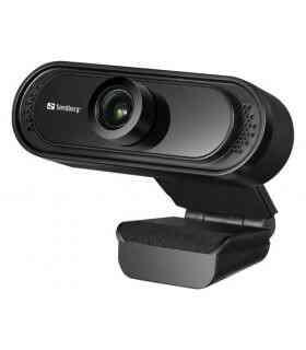 Webcam Saver Sandberg 333-96 Full-HD 1080p USB +microphone