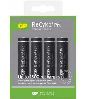 Acumulatori AAA (R3) GP NiMH RecykoPro 850mAh 4 buc/blister