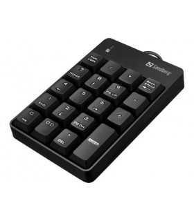 Tastatura numerica Sandberg 630-07 USB 2.0 negru