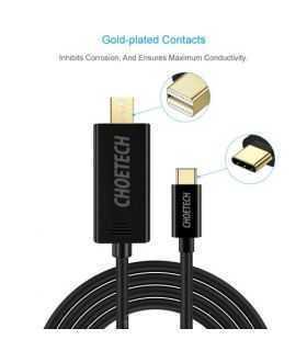 Cablu USB tip C - Mini Displayport Choetech XCM-1501 1.5m negru