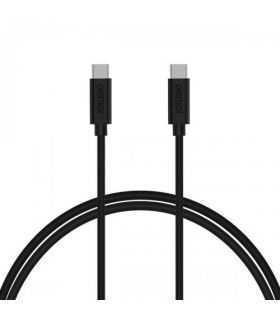 Cablu USB Type C la USB Type C 3A Choetech CC0002 1m negru