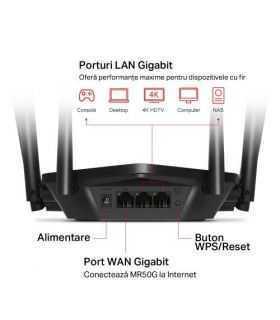 Router Wireless Mercusys MR50G AC1900 Dual Band Gigabit