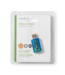 Placa de sunet 5.1 USB 2.0 Nedis