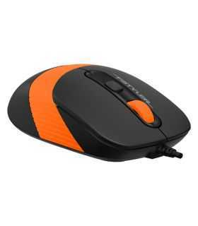 Mouse optic cu fir A4Tech FM10 1600DPI USB portocaliu