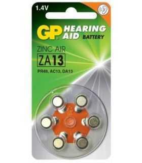 Baterii pentru aparate auditive GP 7.9 x 5.4 mm GPZA13-D6