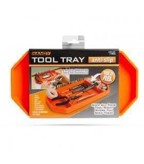 Tava cauciuc pemtru unelte cu compartimente si suport pentru bituri HANDY