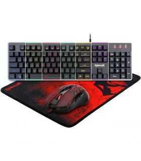 Kit gaming Redragon S107 tastatura + mouse + mousepad