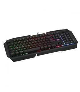 Tastatura gaming T-Dagger Landing-Ship rainbow neagra