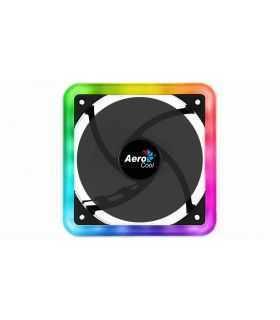 Ventilator Aerocool Edge14 120mm iluminare aRGB 12LED rulmenti de tip Hydraulic Bearing anti-vibratii 1200RPM