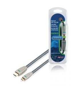 Cablu HDMI 1m mini HDMI Bandridge High Speed