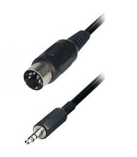 Cablu audio stereo 1.5m 3.5mm JACK tata - 5PIN DIN tata