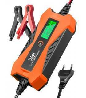 Redresor baterie auto plumb acid Well 6V-2A 12V-7.2A
