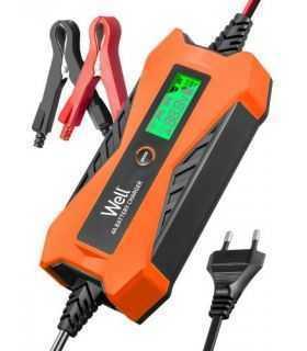 Redresor baterie plumb acid auto Well 6V-2A 12V-4A