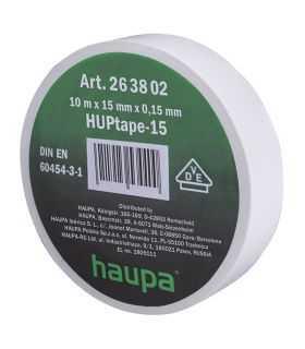 Banda izolatoare 1.5cm x 10m Haupa ROH263802 alb