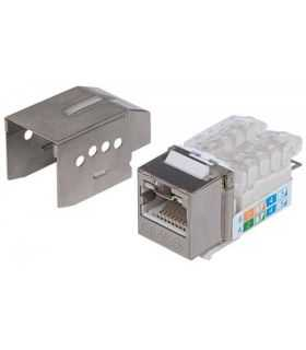 Conector Keystone CAT6a Intellinet RJ45 mama
