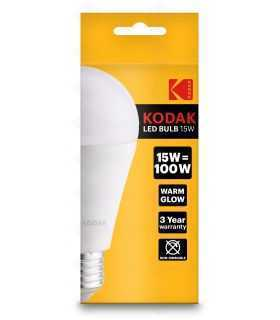 Bec LED KODAK E27 15W 1450lm echivalent 100W 3000K lumina calda