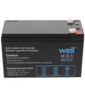 Lead Acid Battery 12V 7Ah 15165x95mm Well