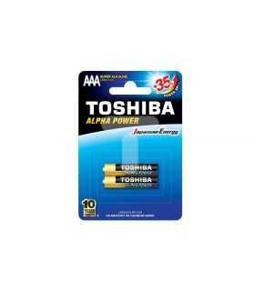 Baterii Toshiba ALPHA POWER AAA R3 alcaline blister 2buc