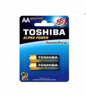Baterii Toshiba ALPHA POWER AA R6 alcaline blister 2buc