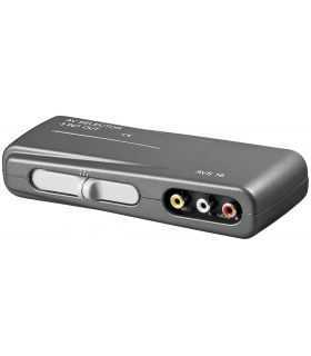 Switch audio-video 3x RCA mama 3IN - 1OUT 3x RCA mama Goobay