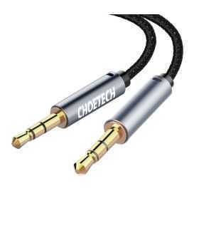 Cablu audio jack stereo Choetech AUX002 3.5mm tata - 3.5mm tata 1.2m negru