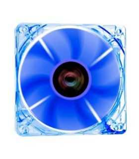 Ventilator Riotoro Cross-X Clear Classic 120mm iluminare albastra