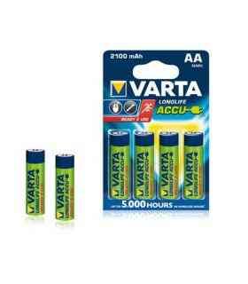 Acumulatori AA Ni-MH 2100mAh Varta 4buc Ready to use