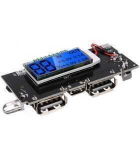 Modul de incarcare acumulator 18650 cu LCD