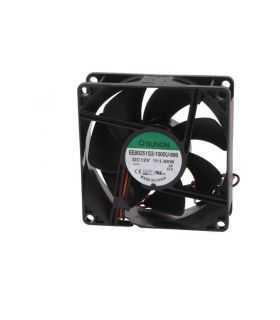 Ventilator DC axial 12VDC 80x80x25 mm 55.77m 3/h 28dBA 2600rot/min 24AWG SUNON EE80251S3-1000U-999