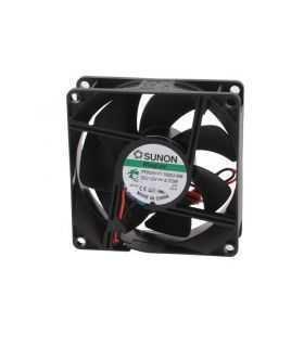 Ventilator DC axial 12VDC 80x80x25 mm 4800rot./min 101.4m3/h 44.7dBA Vapo SUNON PF80251V1-1000U-A99